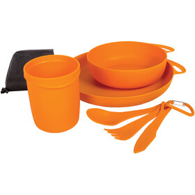 Sea to Summit Delta Set de vaisselle pour camping, orange